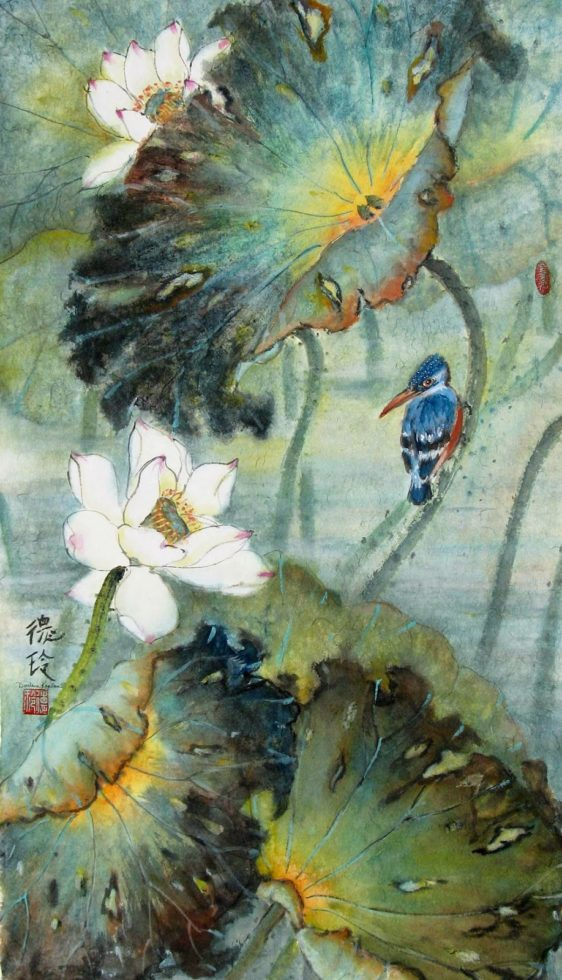 oriental brush painting workshop