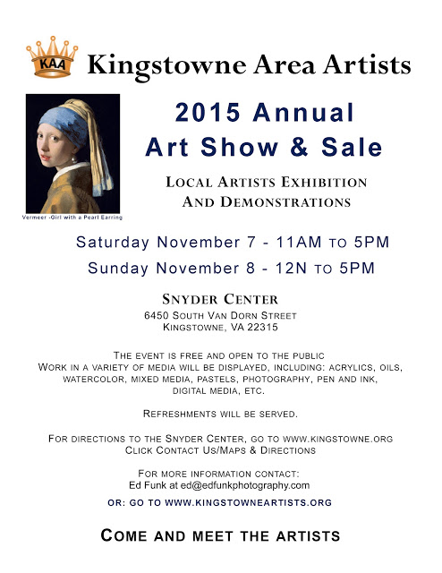 Kingstowne Area Artist Art Exhibition Alexandria, VA
