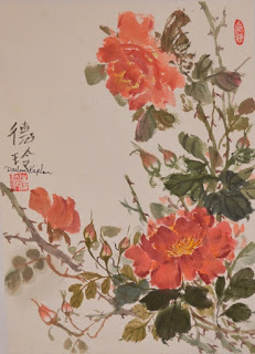 Oriental brush painting workshop 2016 by Darlene Kaplan, Alexandria, VA