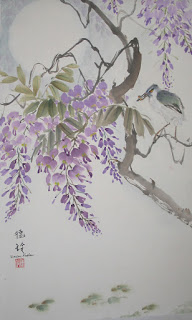 Summer session in Oriental Brush Painting classes