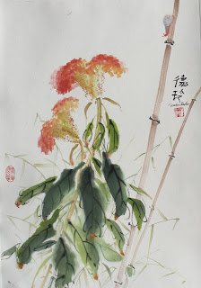 Fall session in oriental brush painting classes
