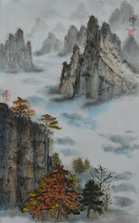 workshop in oriental brush painting