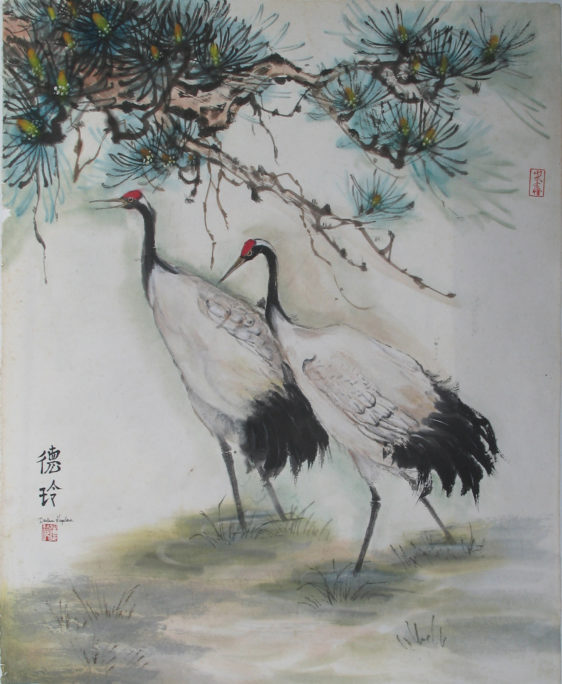 New Oriental Brush Painting